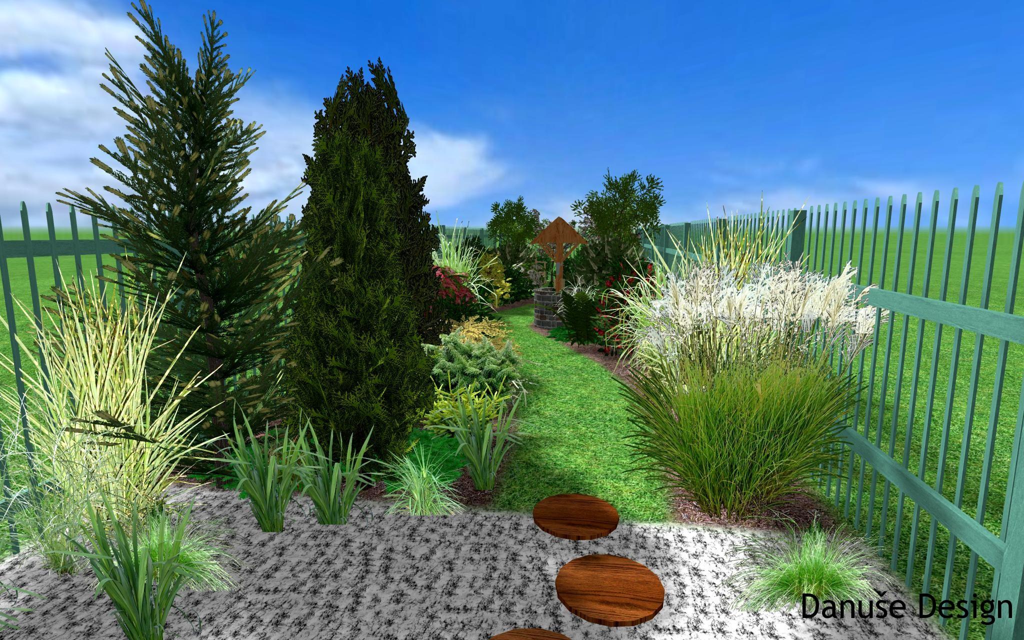 Zahrada s podzemní nádrží15a