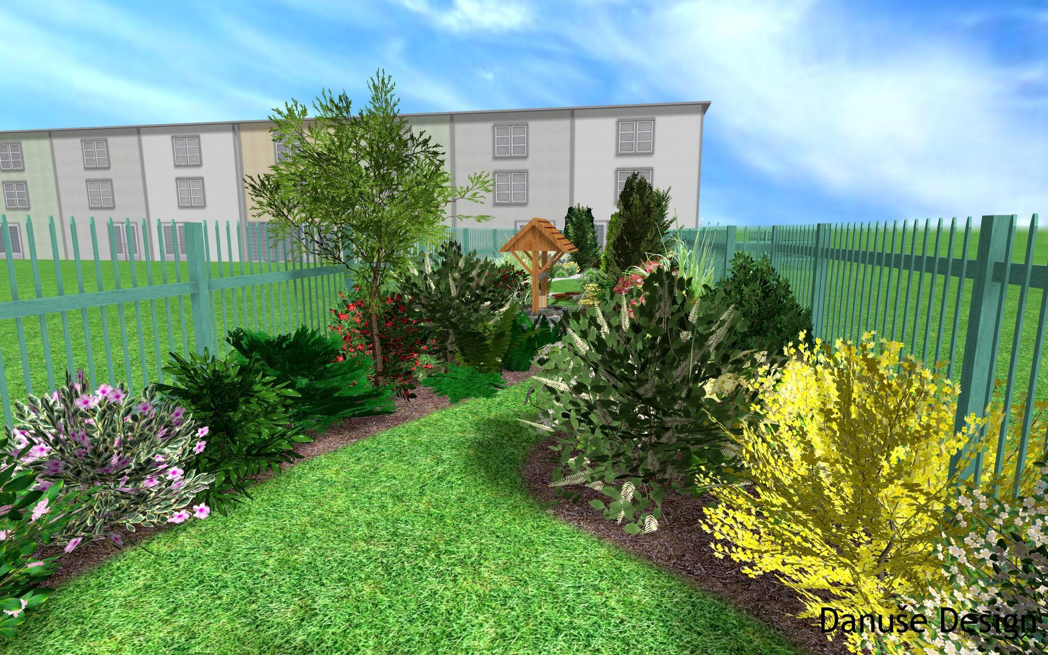 Zahrada s podzemní nádrží17