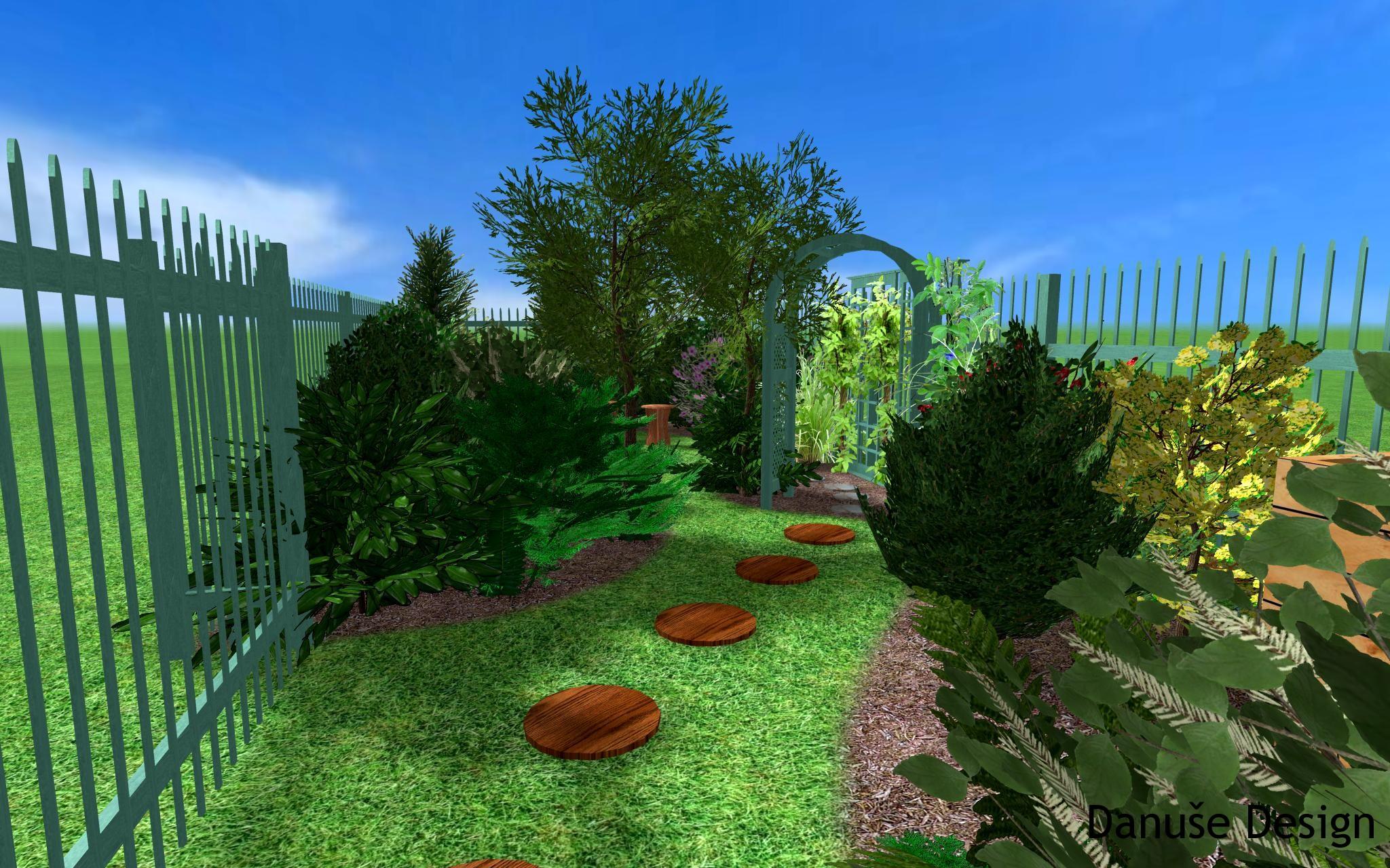 Zahrada s podzemní nádrží23