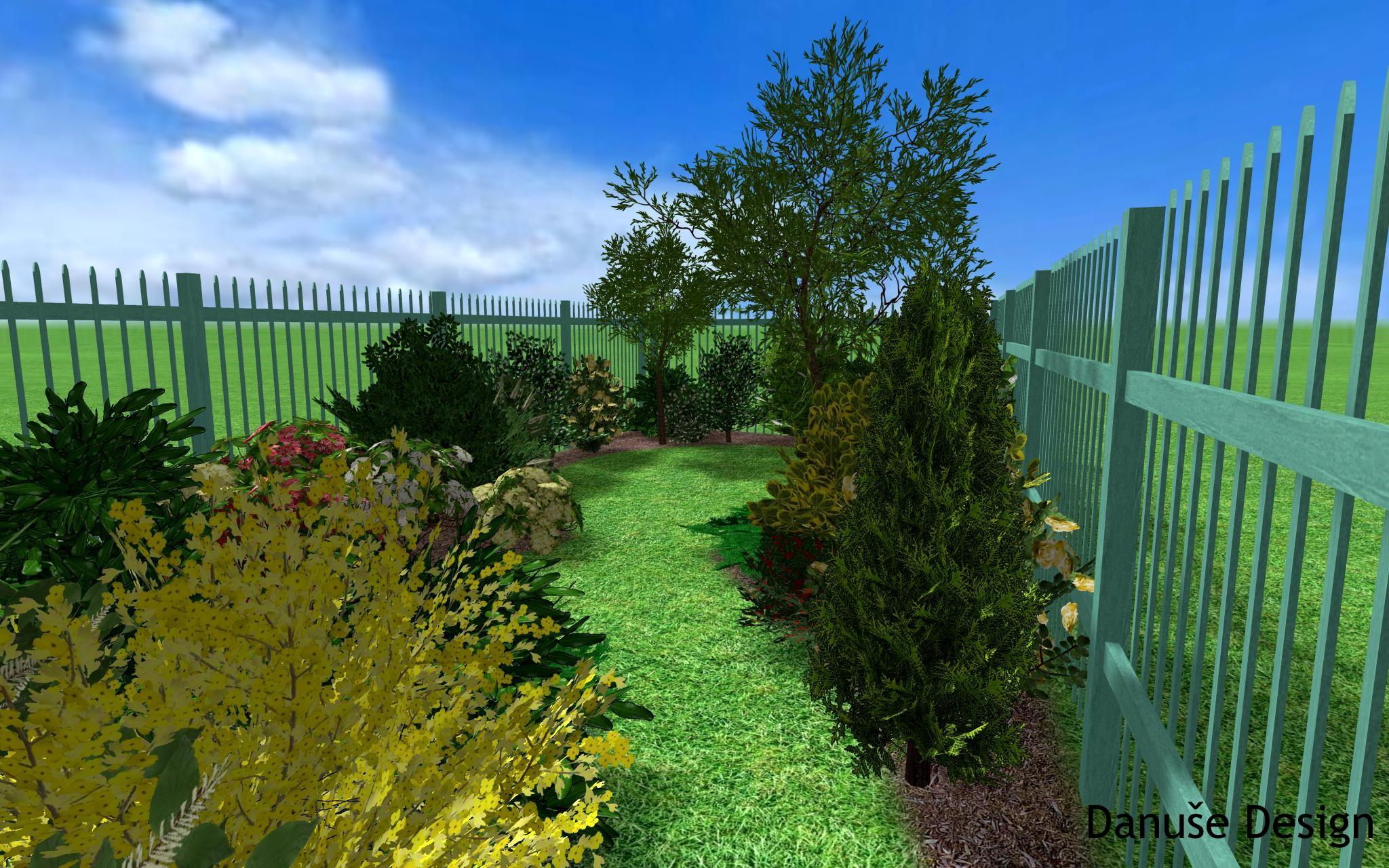 Zahrada s podzemní nádrží8