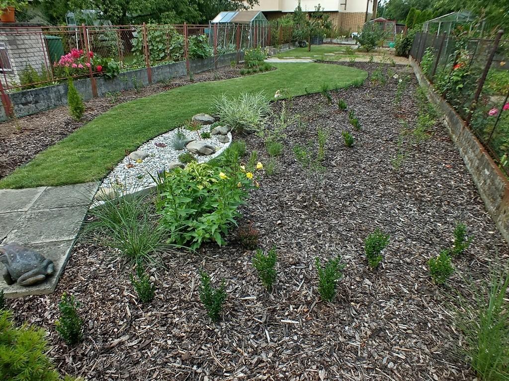 založená zahrada